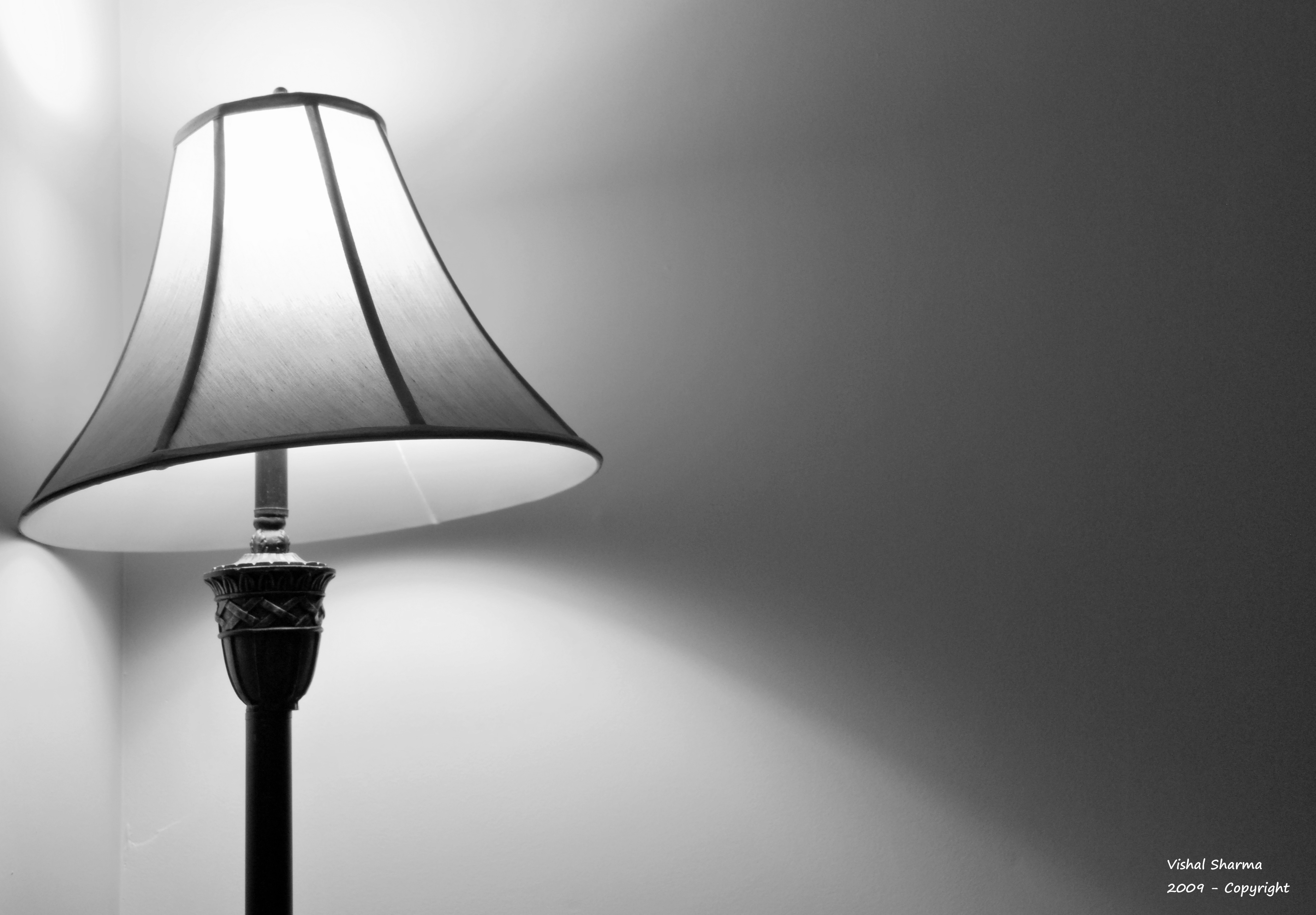 Wallpaper Lamp Shades : Tilted Lamp Shade by Vishal Sharma - Desktop Wallpaper