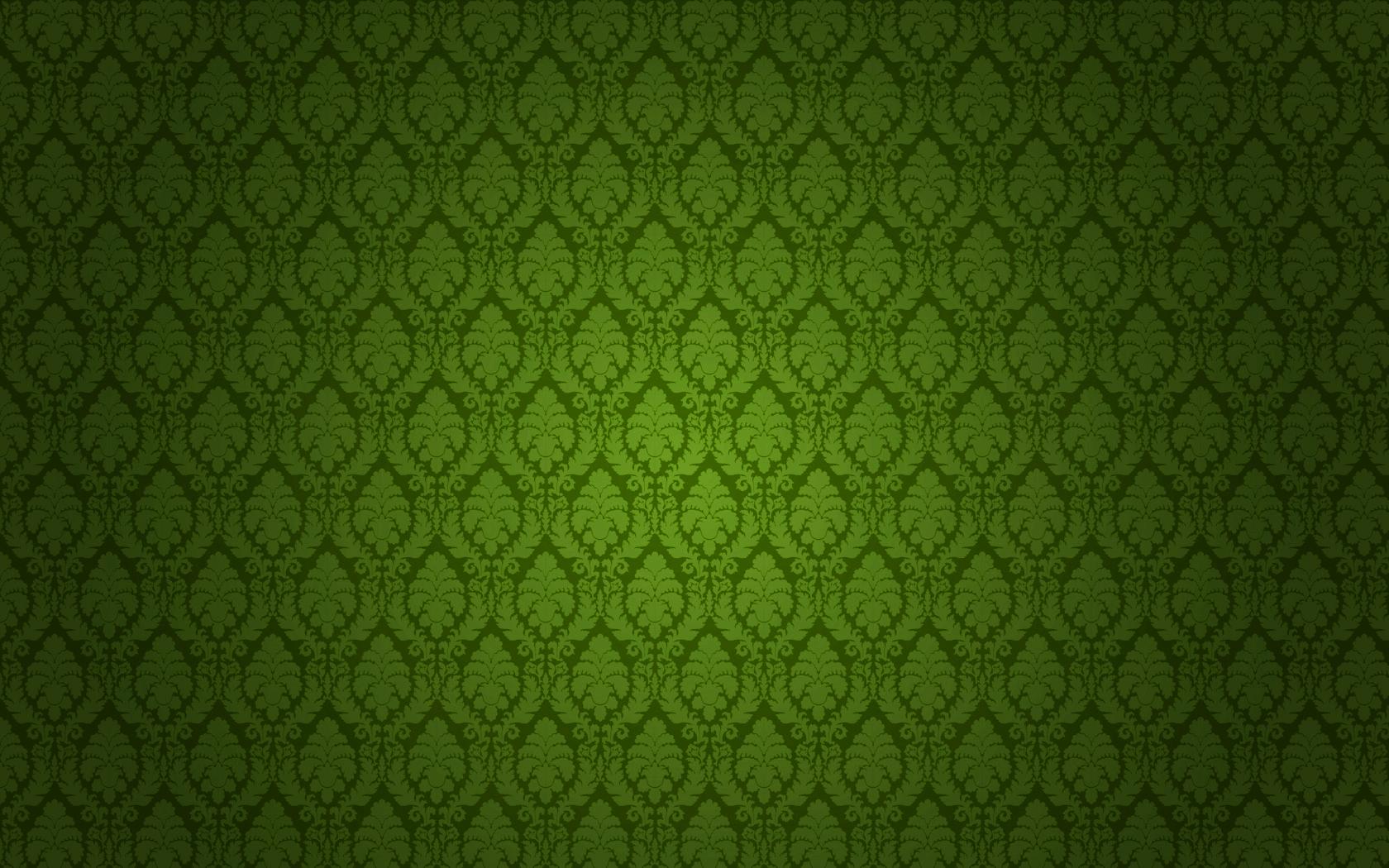 green damask desktop wallpaper
