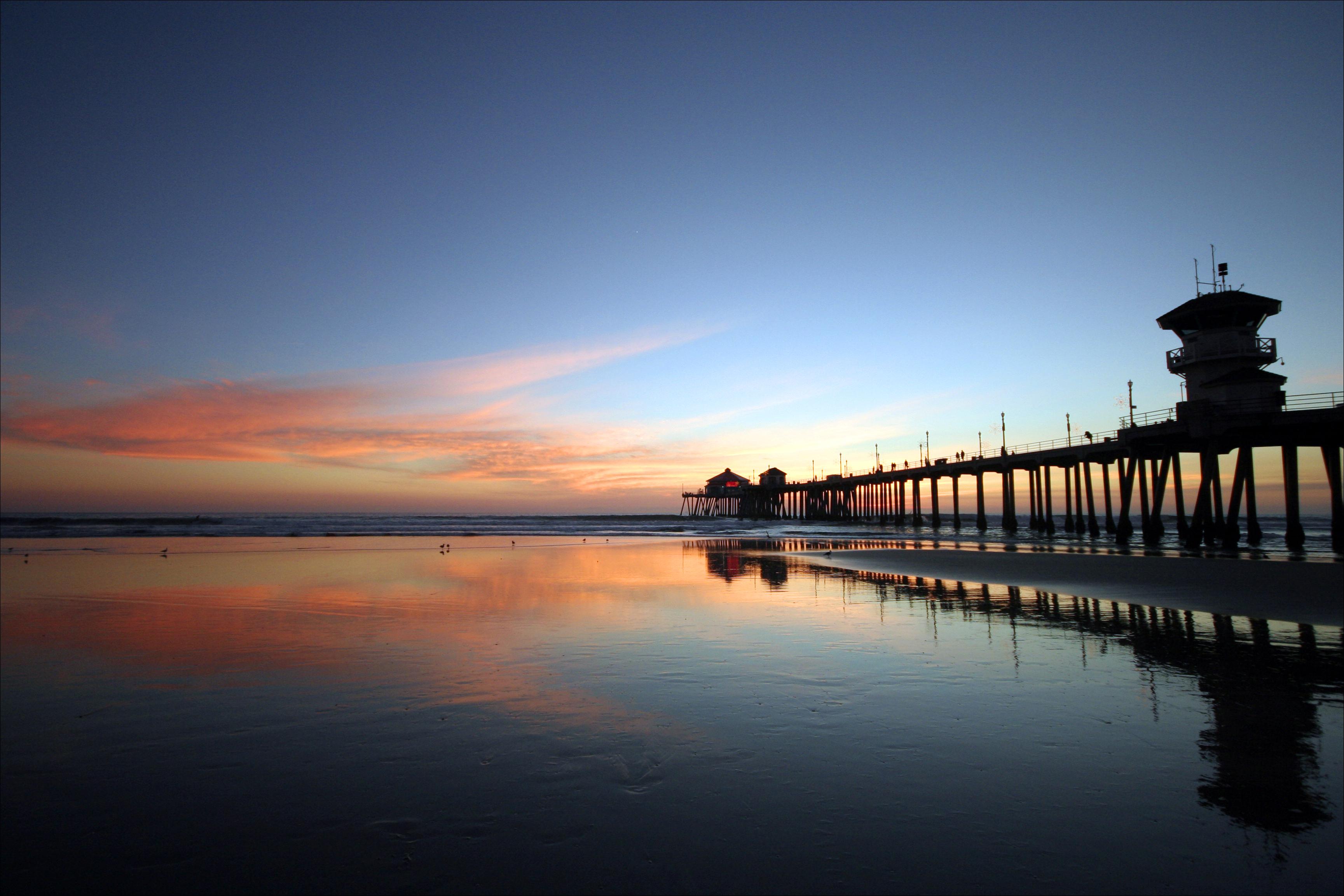Hb Pier At Dusk By Scott Otta on Naples Florida Pier Sunset