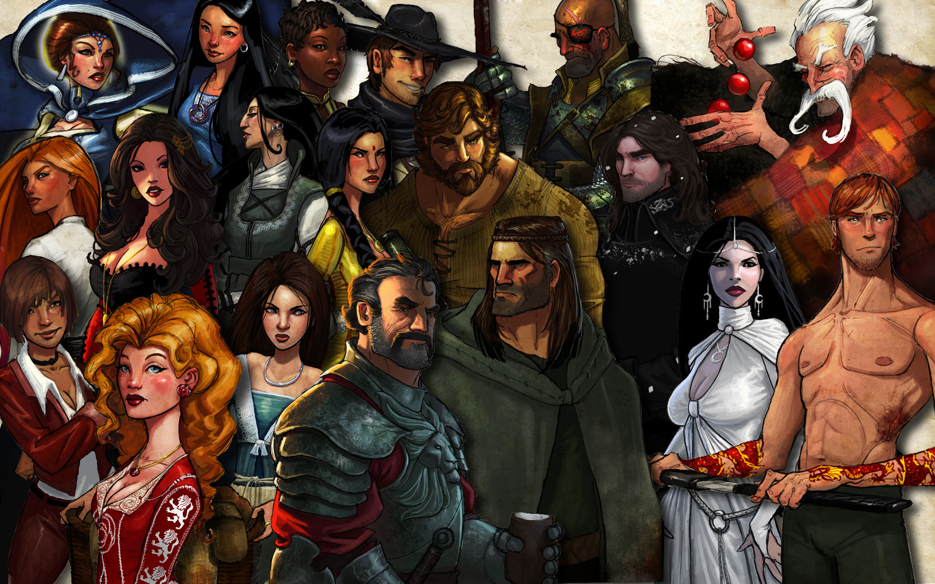 wheel of time characters by joe c wallace iii desktop