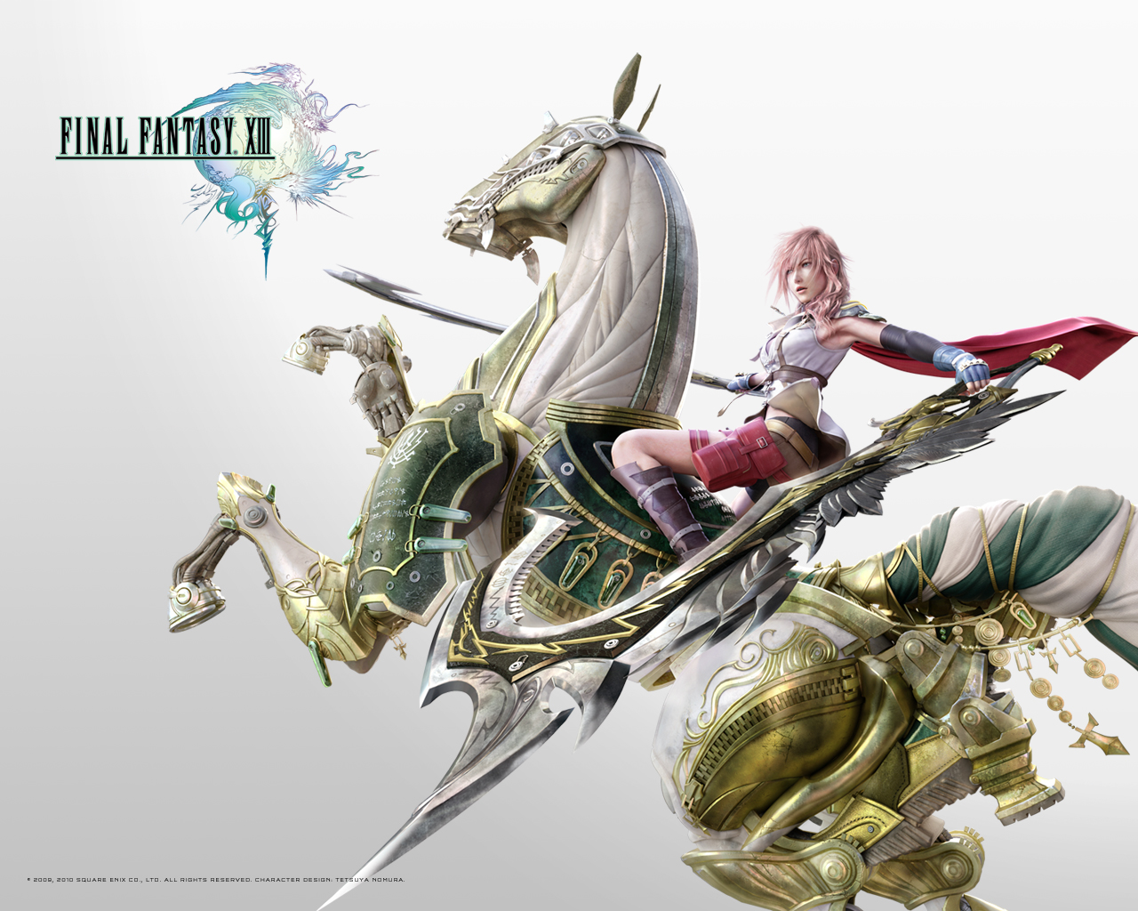 Final Fantasy XIII - Lightning by Sqaure-Enix - Desktop Wallpaper