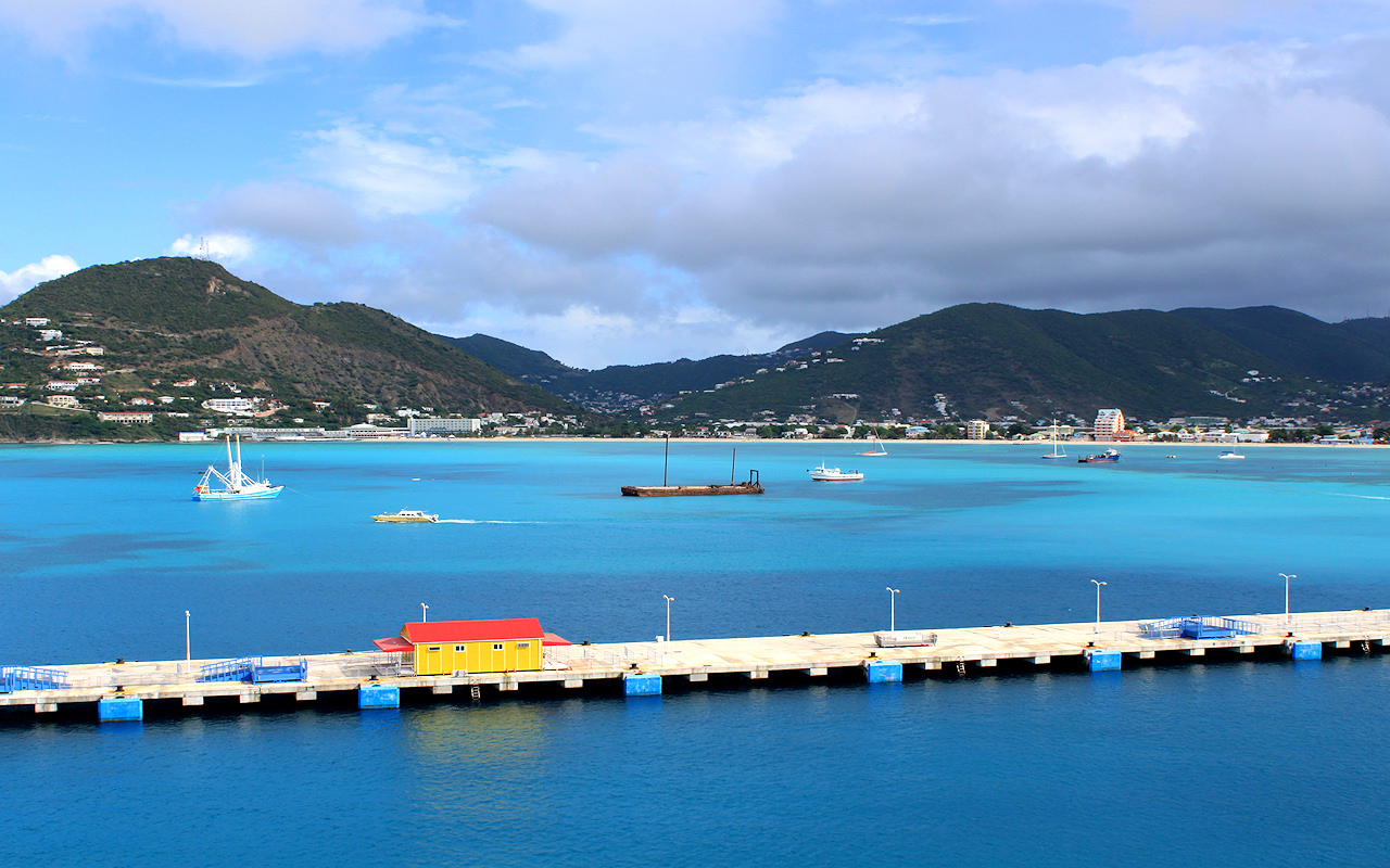 Bay at St. Kitts West Indies