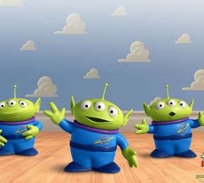 Toy Story martians by Geekmaster - Desktop Wallpaper