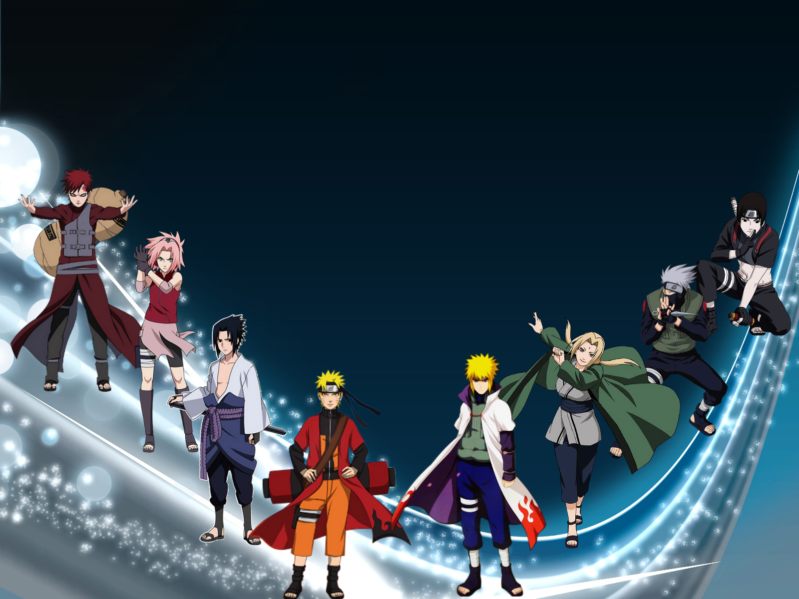 Naruto's Characters by Thiisb - Desktop Wallpaper