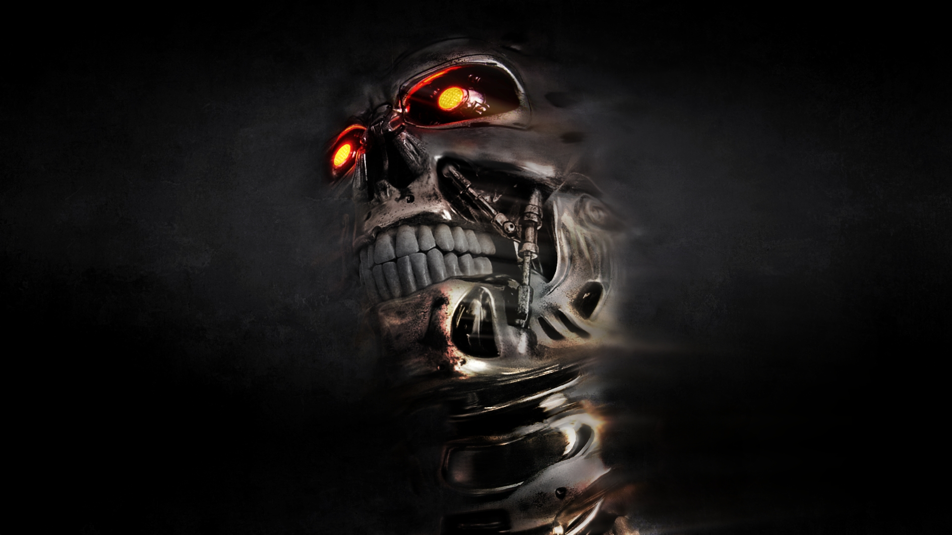 Dark Robot Wallpaper by Nick - Desktop Wallpaper