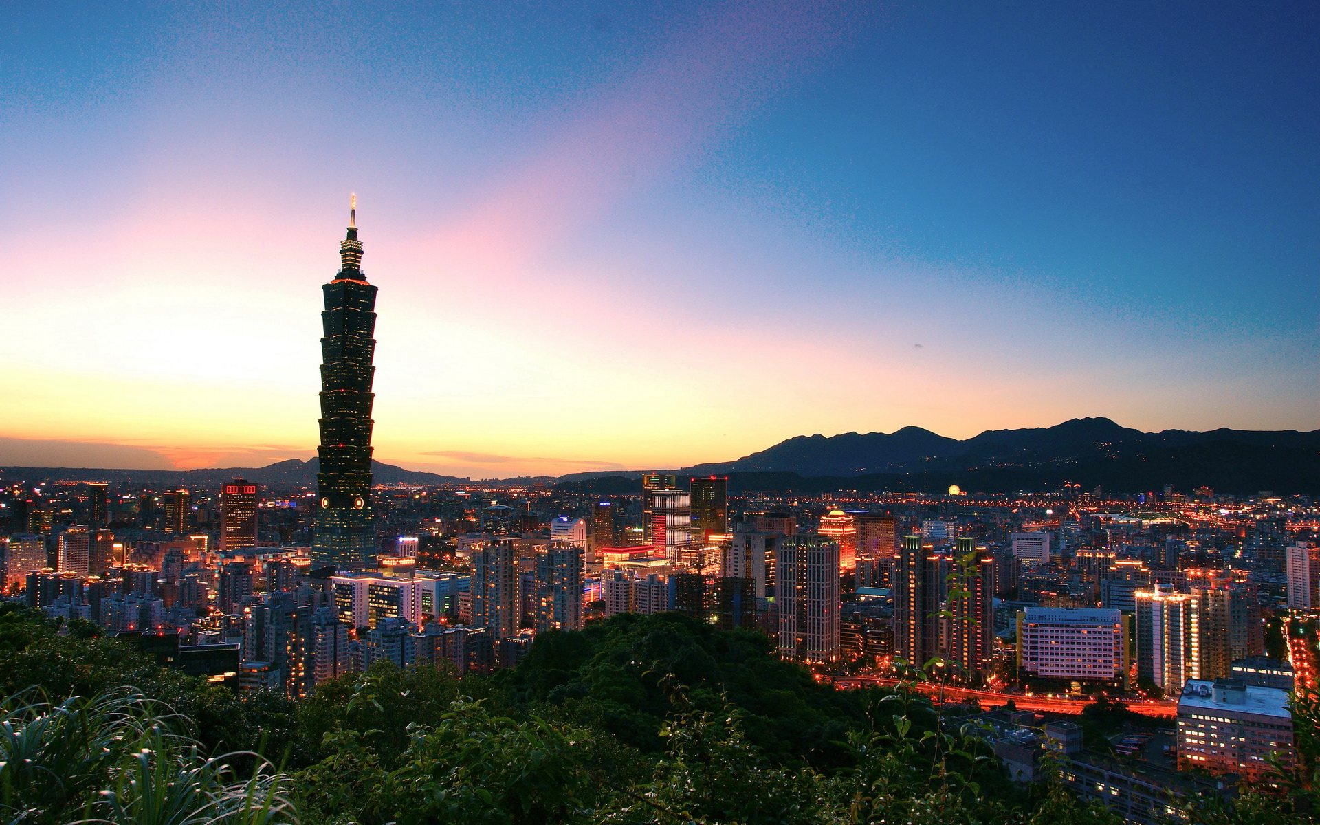 Taiwan Taipei 101 By No Desktop Wallpaper