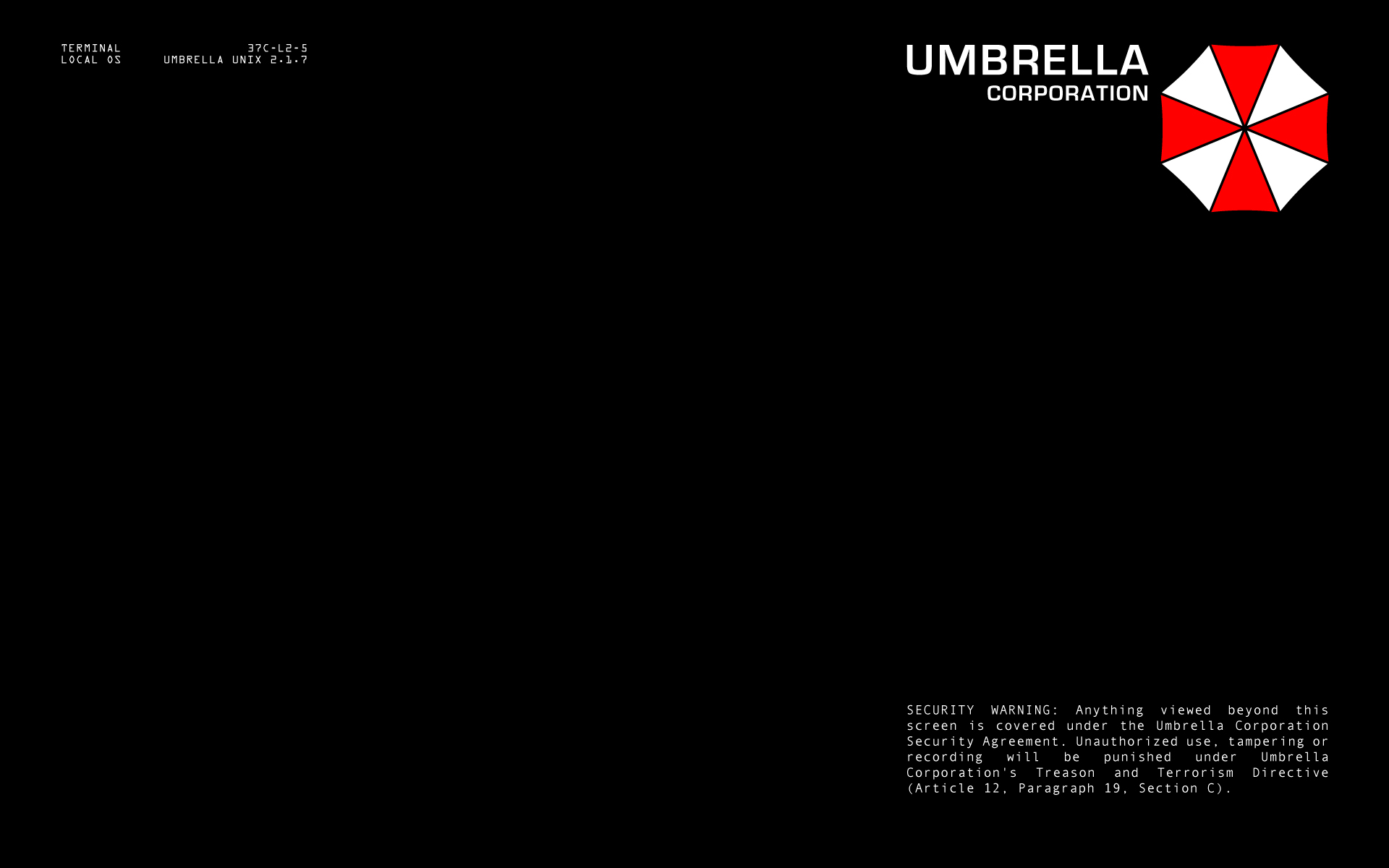 WinCustomize: Explore : Screensavers : Umbrella Corp