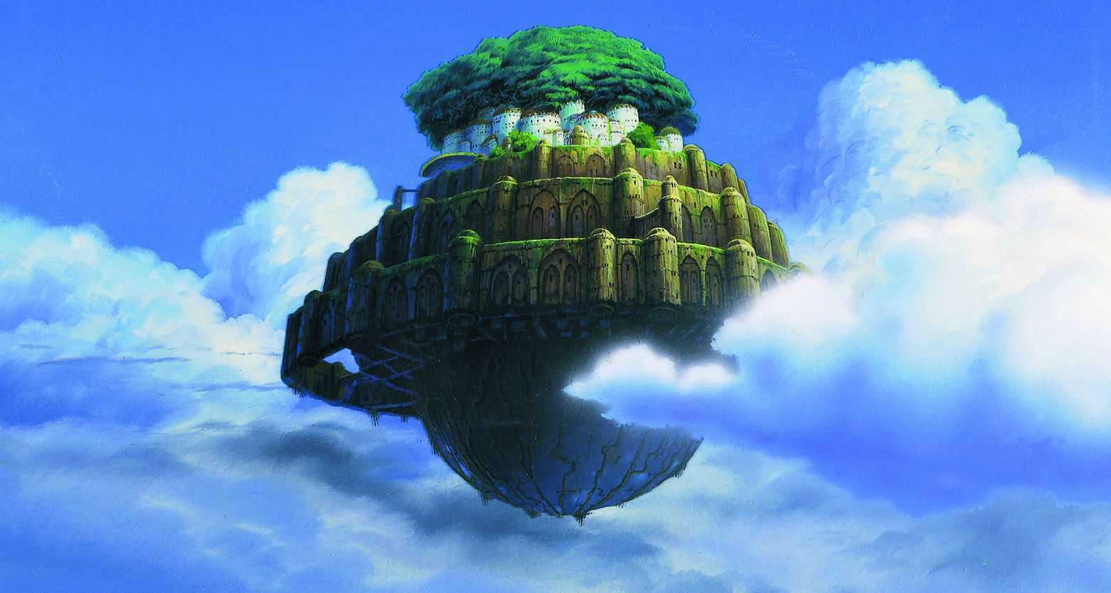 癒される天空の城ラピュタ画像