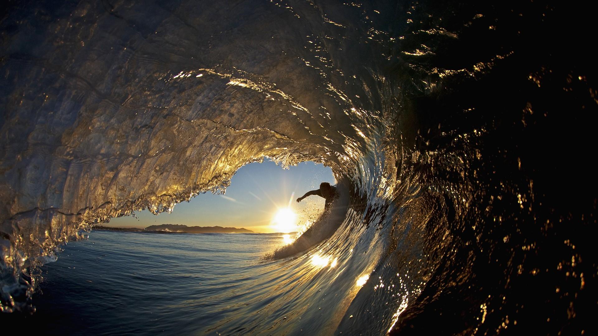 Волны море серфингист загрузить