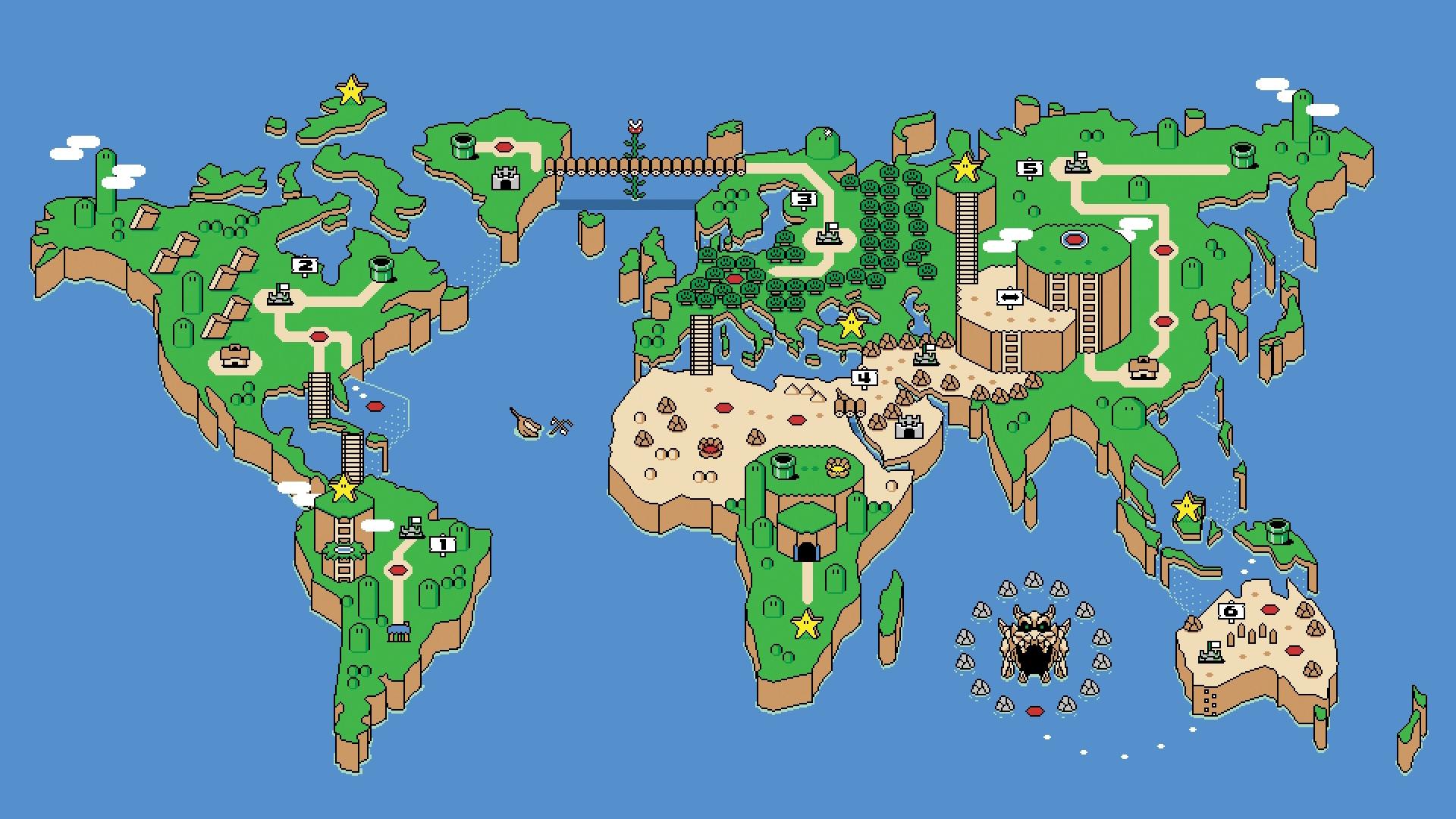 super mario world world map wallpaper 871410