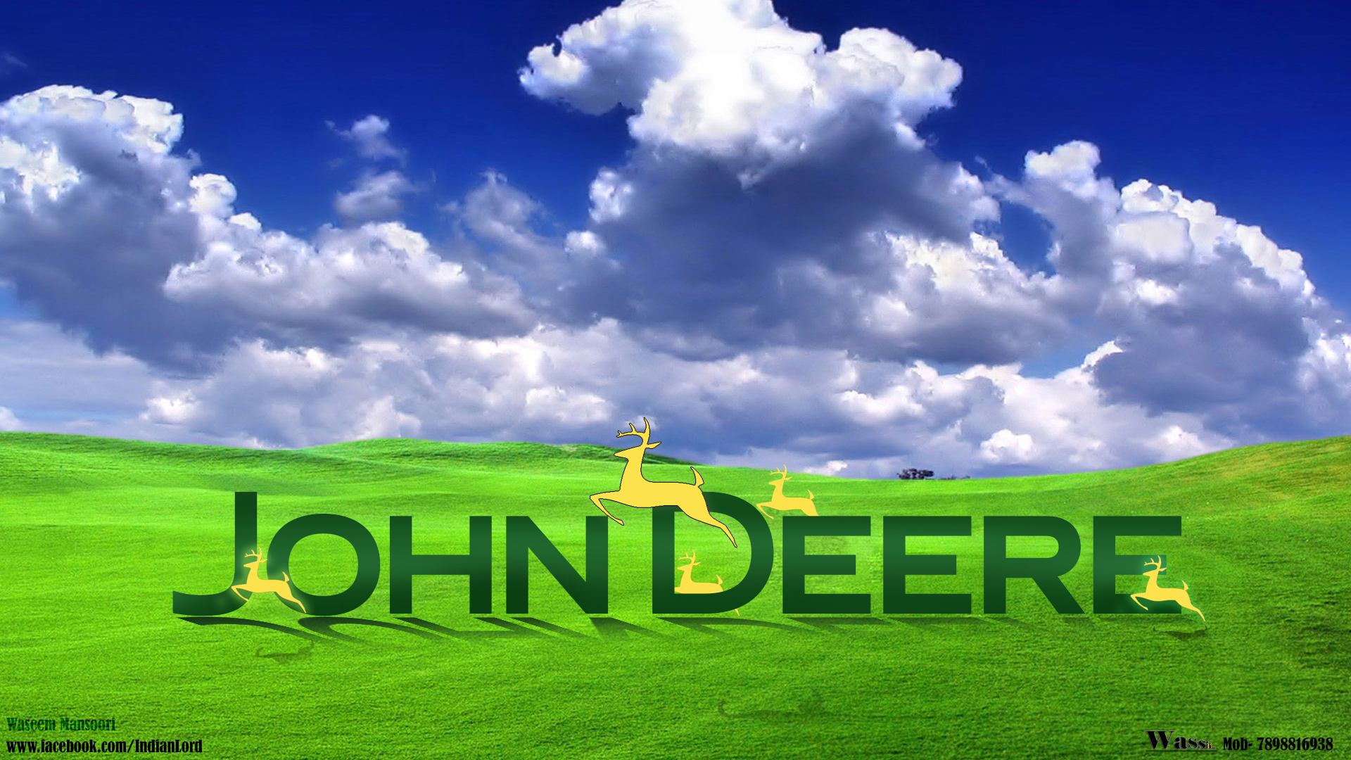 John Deere Tractor Desktop Wallpaper http://www.socwall.com/desktop-wallpaper/30172/john-deere-by-unknown-artist/