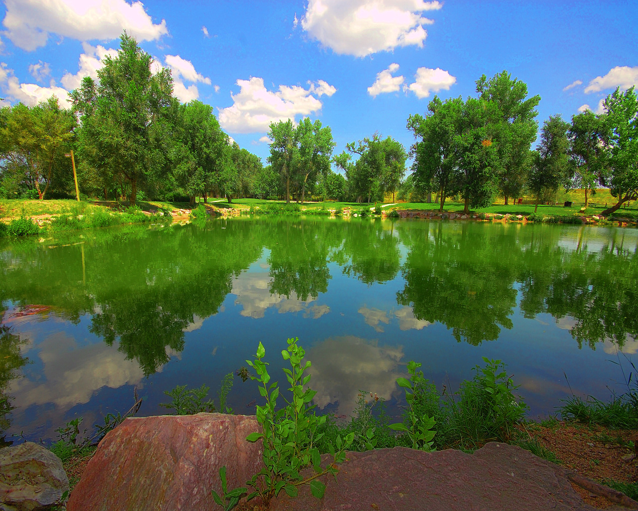 Fountain Creek Pond