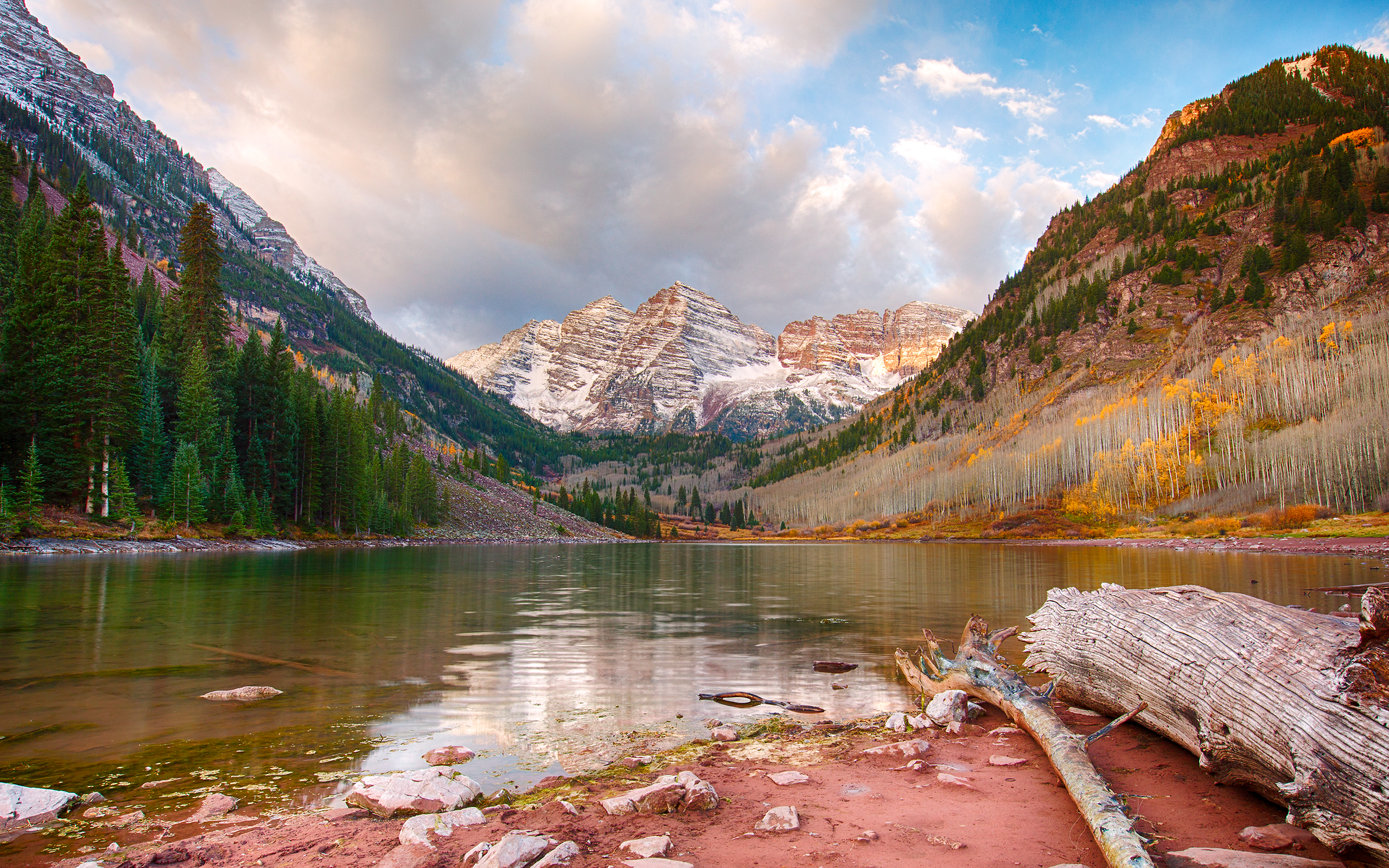 Maroon Bells By Jbkalla Desktop Wallpaper