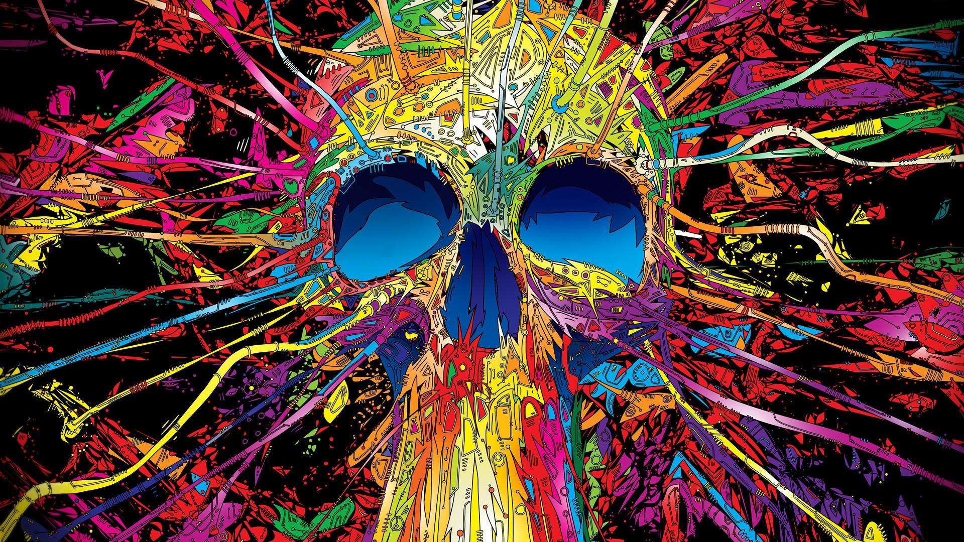 Cyber skull free best hd wallpapers - Cyber wallpaper ...