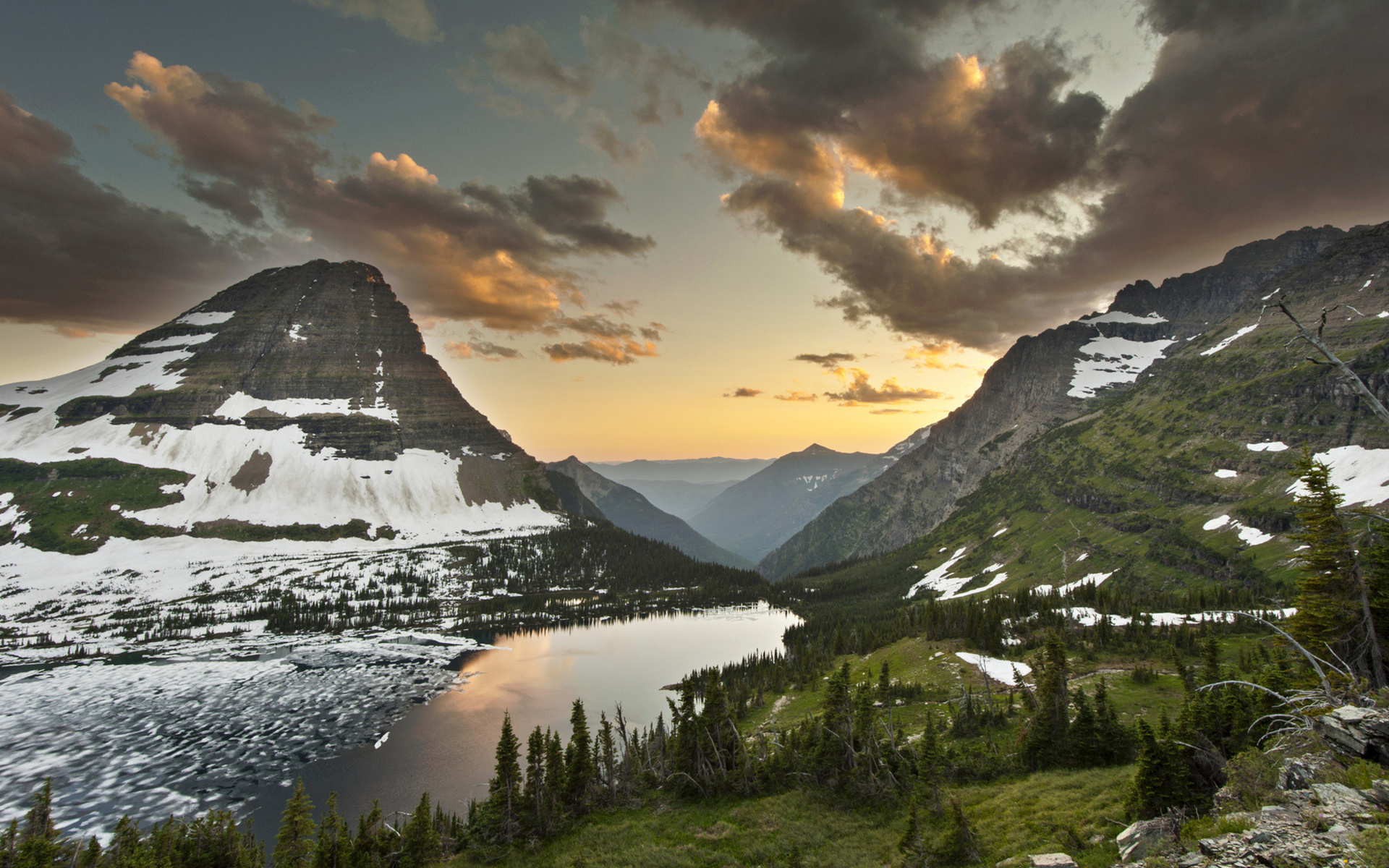 Glacier National Park Desktop Wallpaper