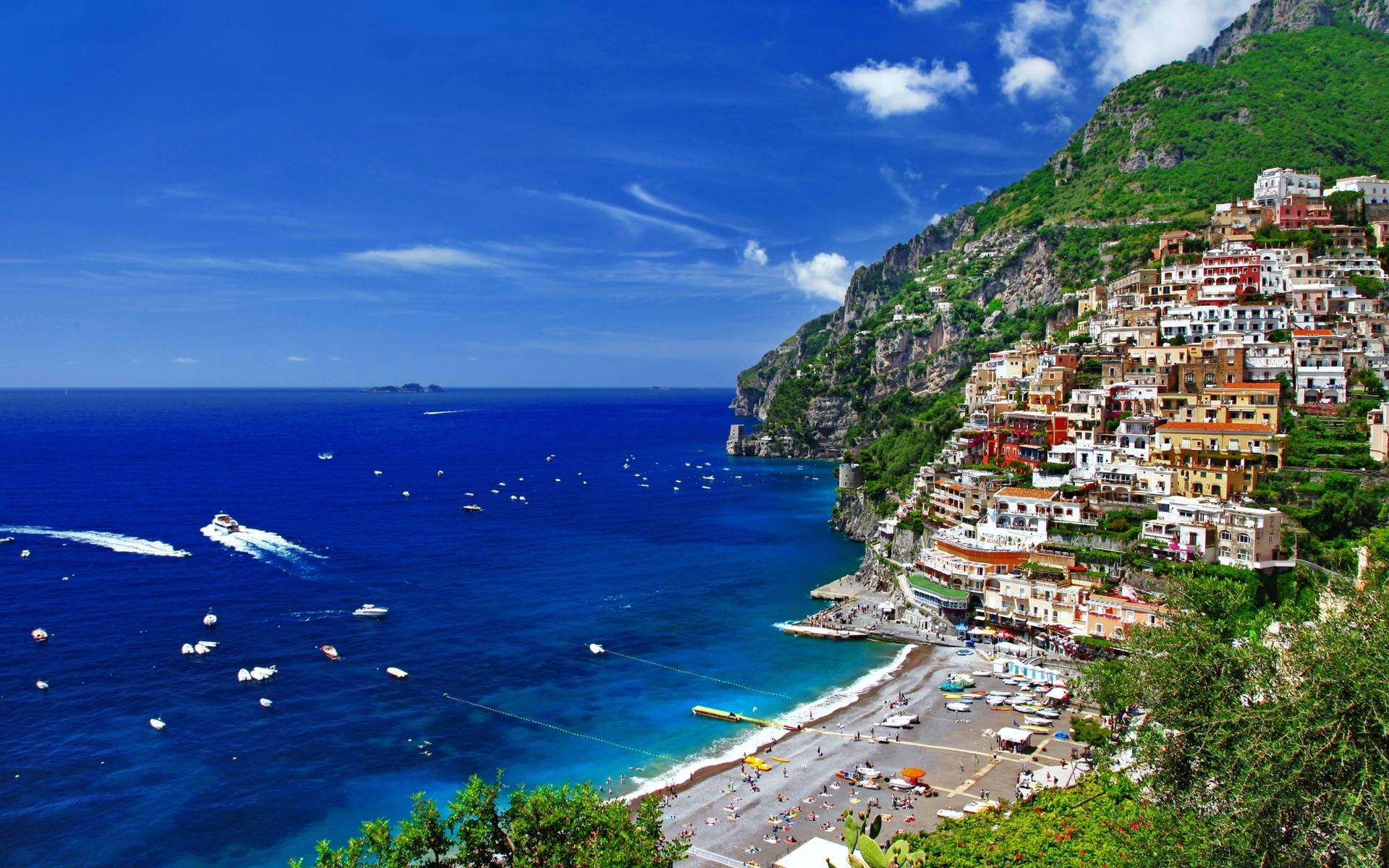 Beautiful Positano Amalfi Coast Bella Italia Series