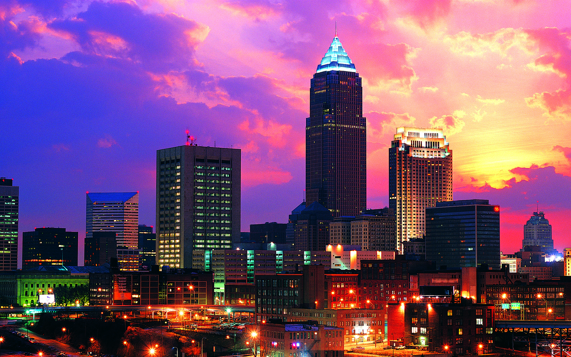 downtown cleveland ohio wallpaper - photo #11