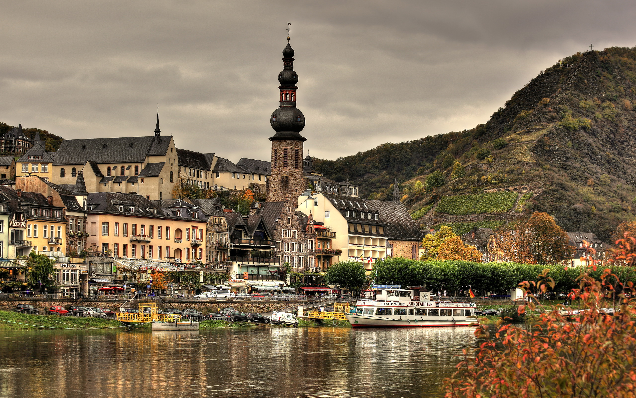 Архитектура Кохем Германия без смс