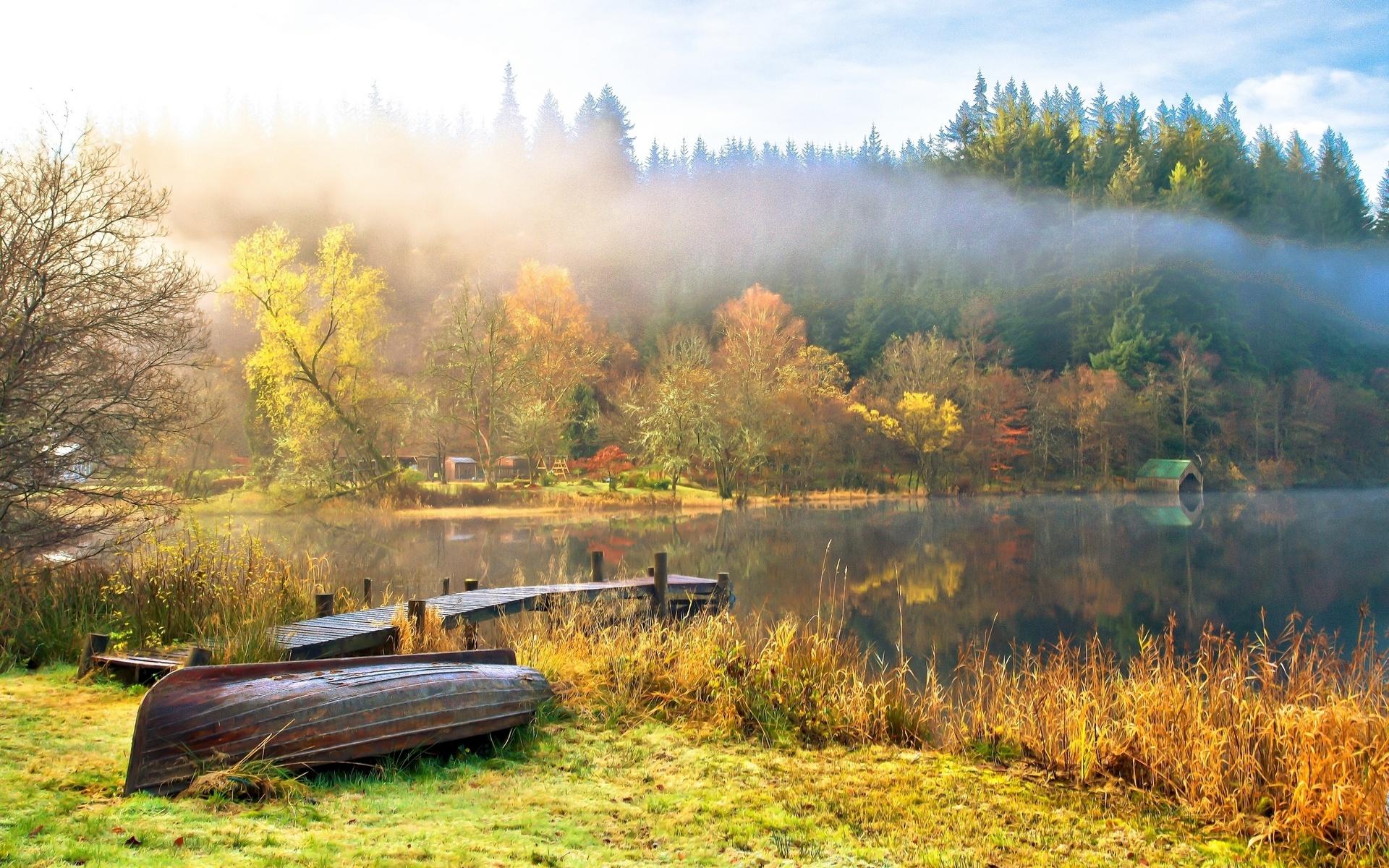 Autumn Scenes Desktop Wallpaper