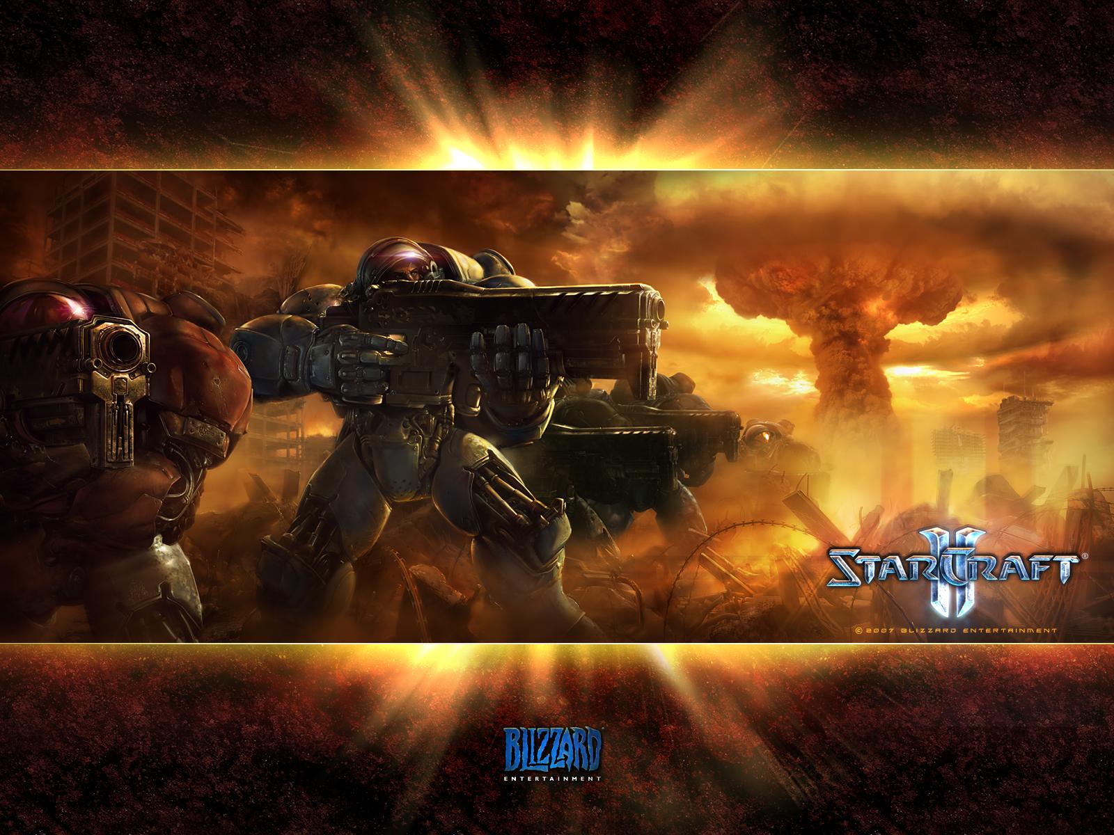 StarCraft 2 Игры Обои и фото.