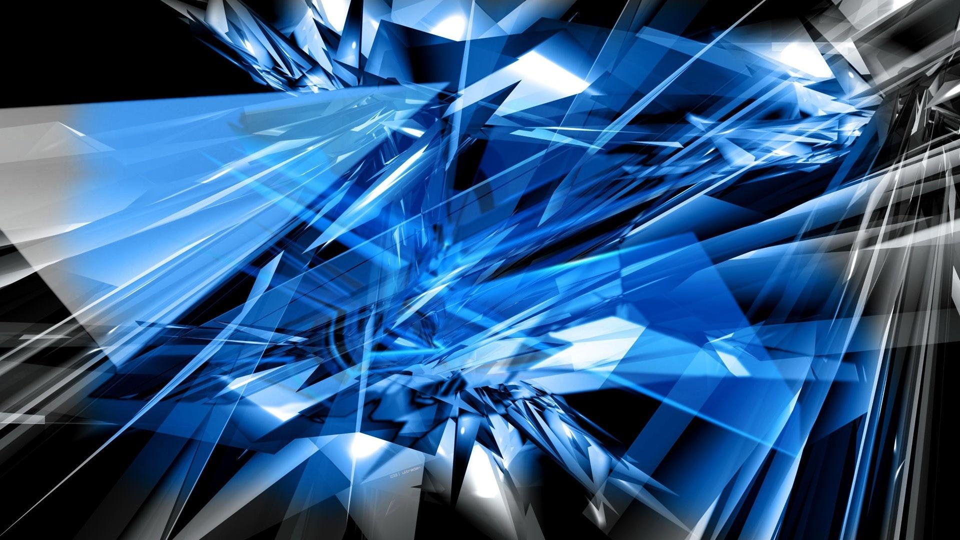 10 Top Black And Blue Shards Wallpaper Full Hd 1080p For: 超酷动漫图片大全-异形图片大全