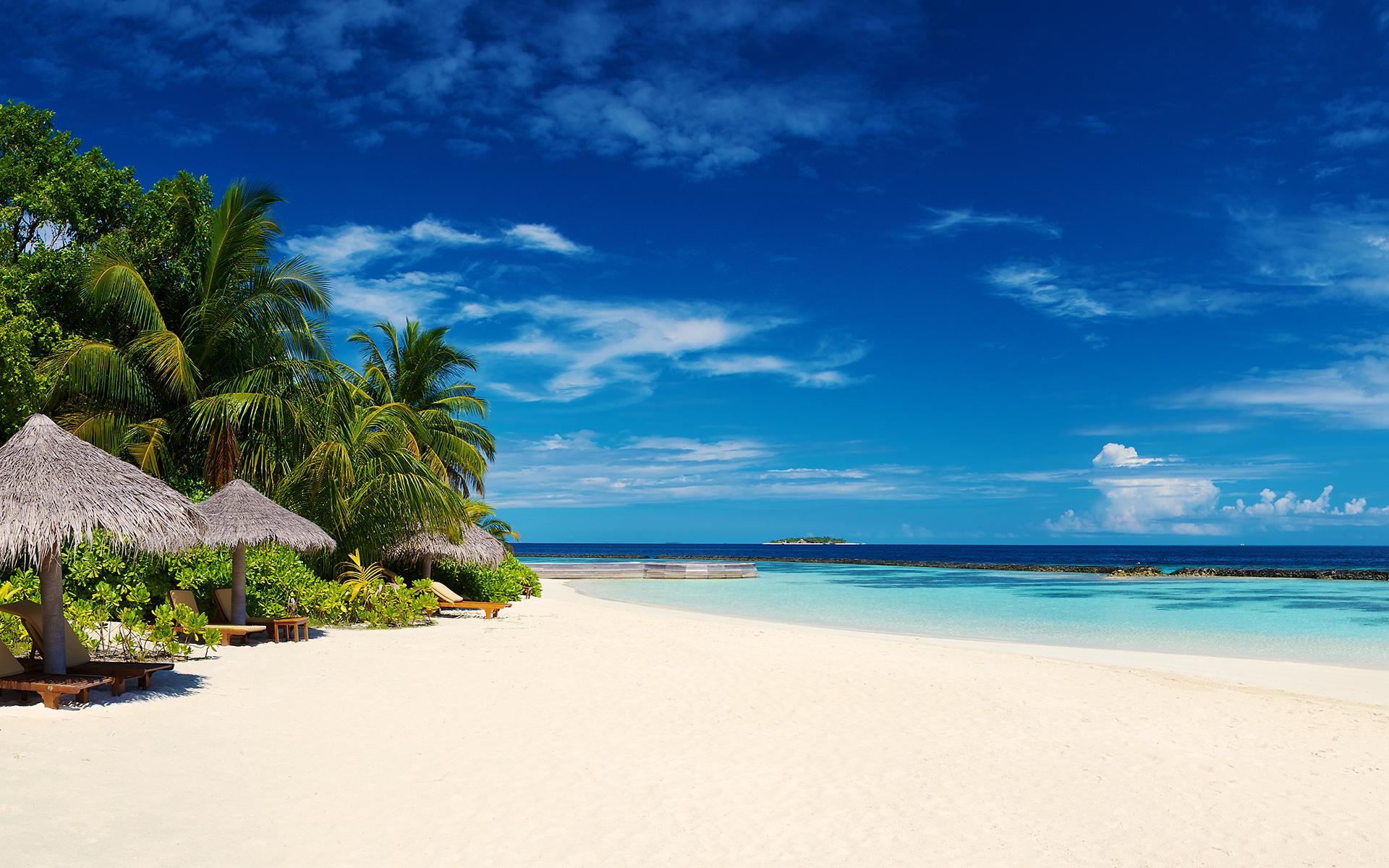 Baros Maldives By Dan Grady Desktop Wallpaper