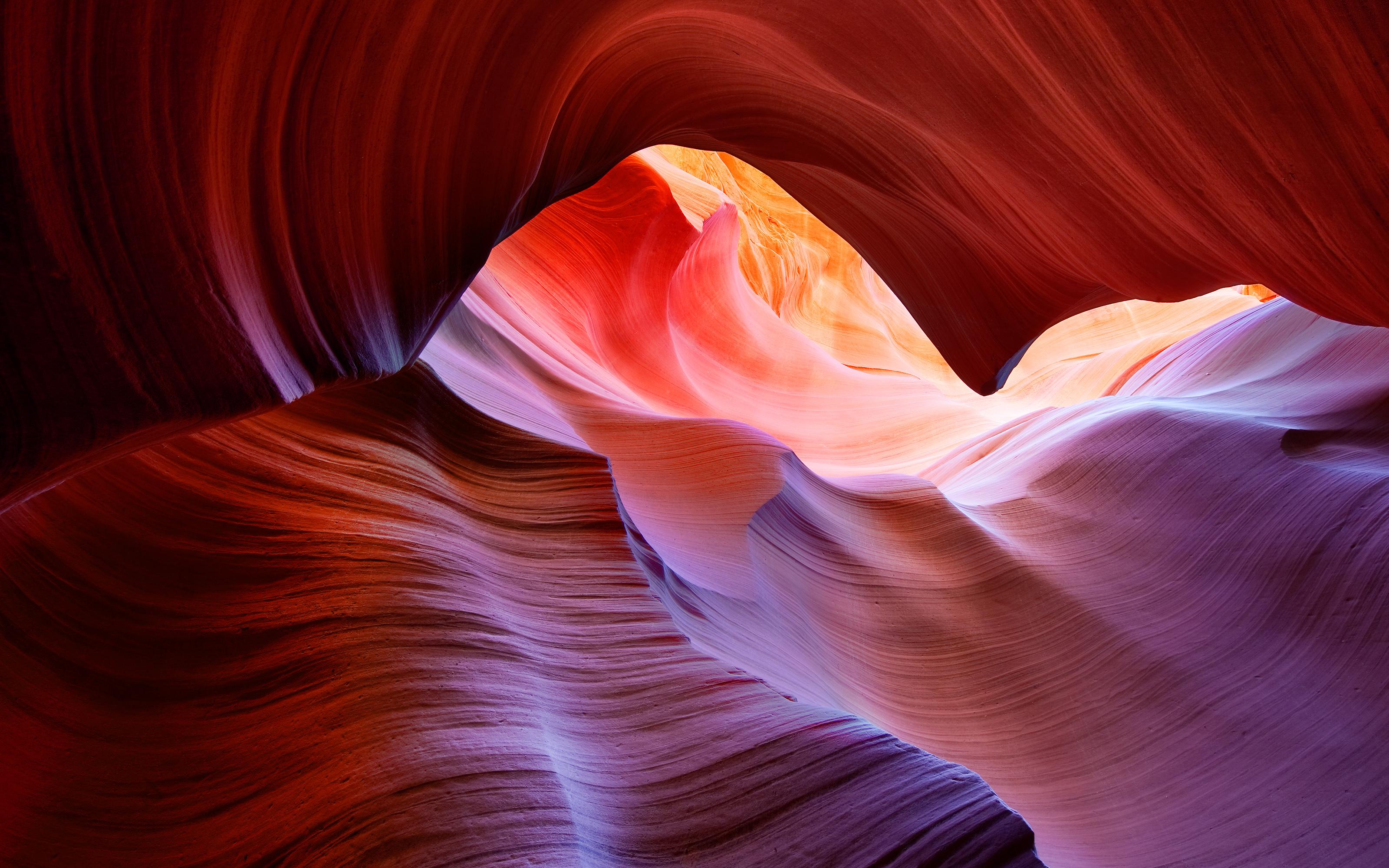 Antelope Canyon By Apple Desktop Wallpaper