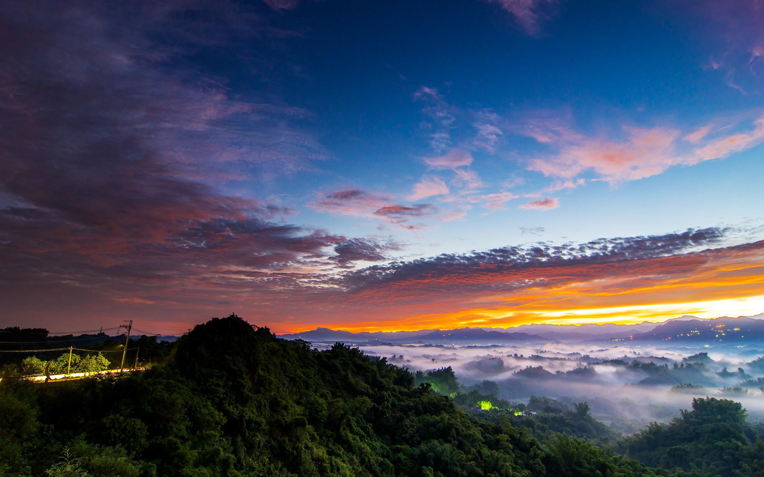природа страны архитектура закат небо облака без смс