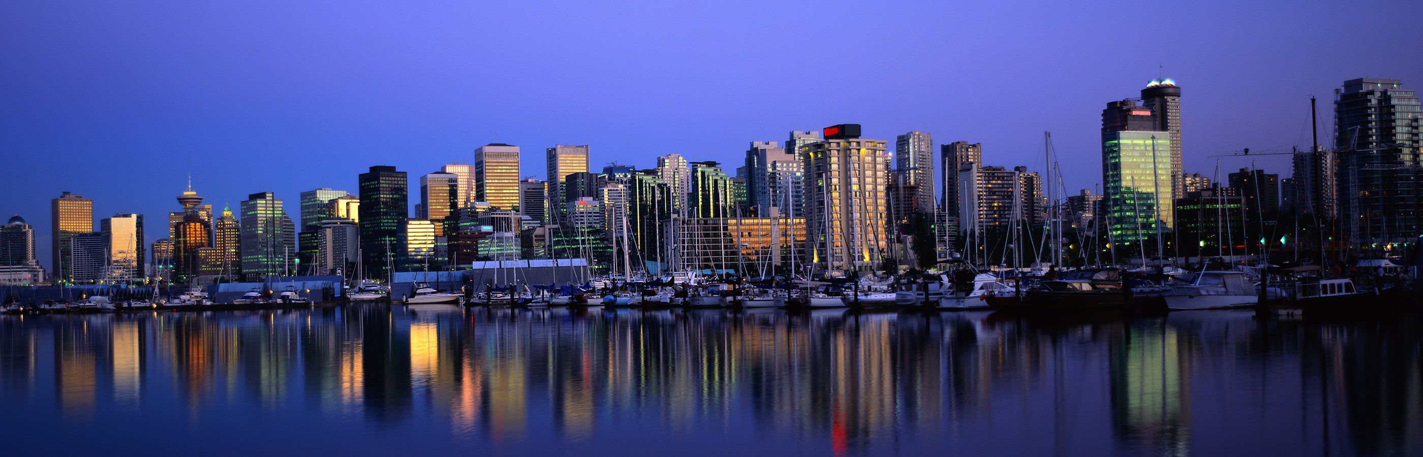 vancouver skyline wallpapers widescreen - photo #14