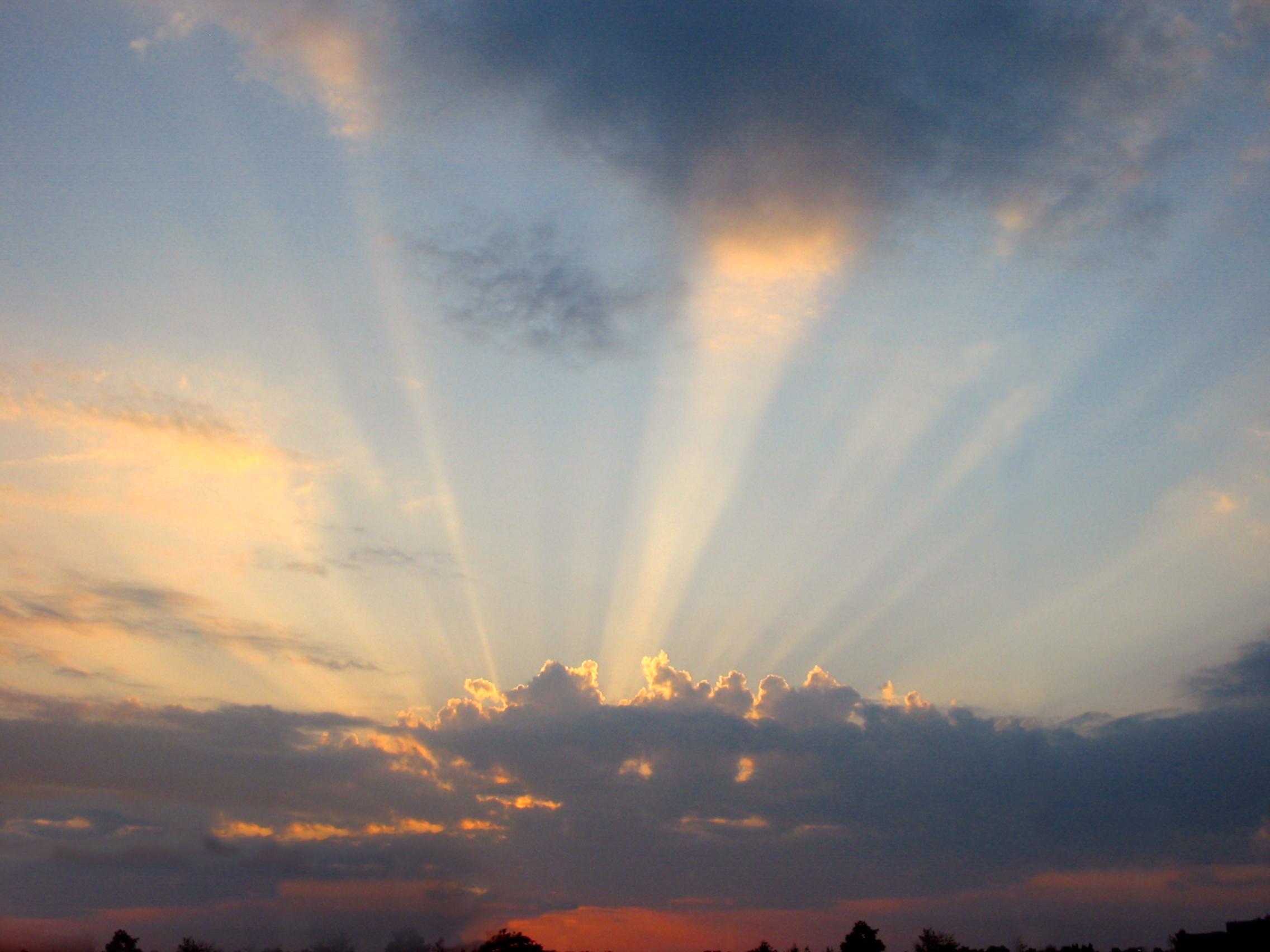 Sun rays by Andrew - Desktop Wallpaper
