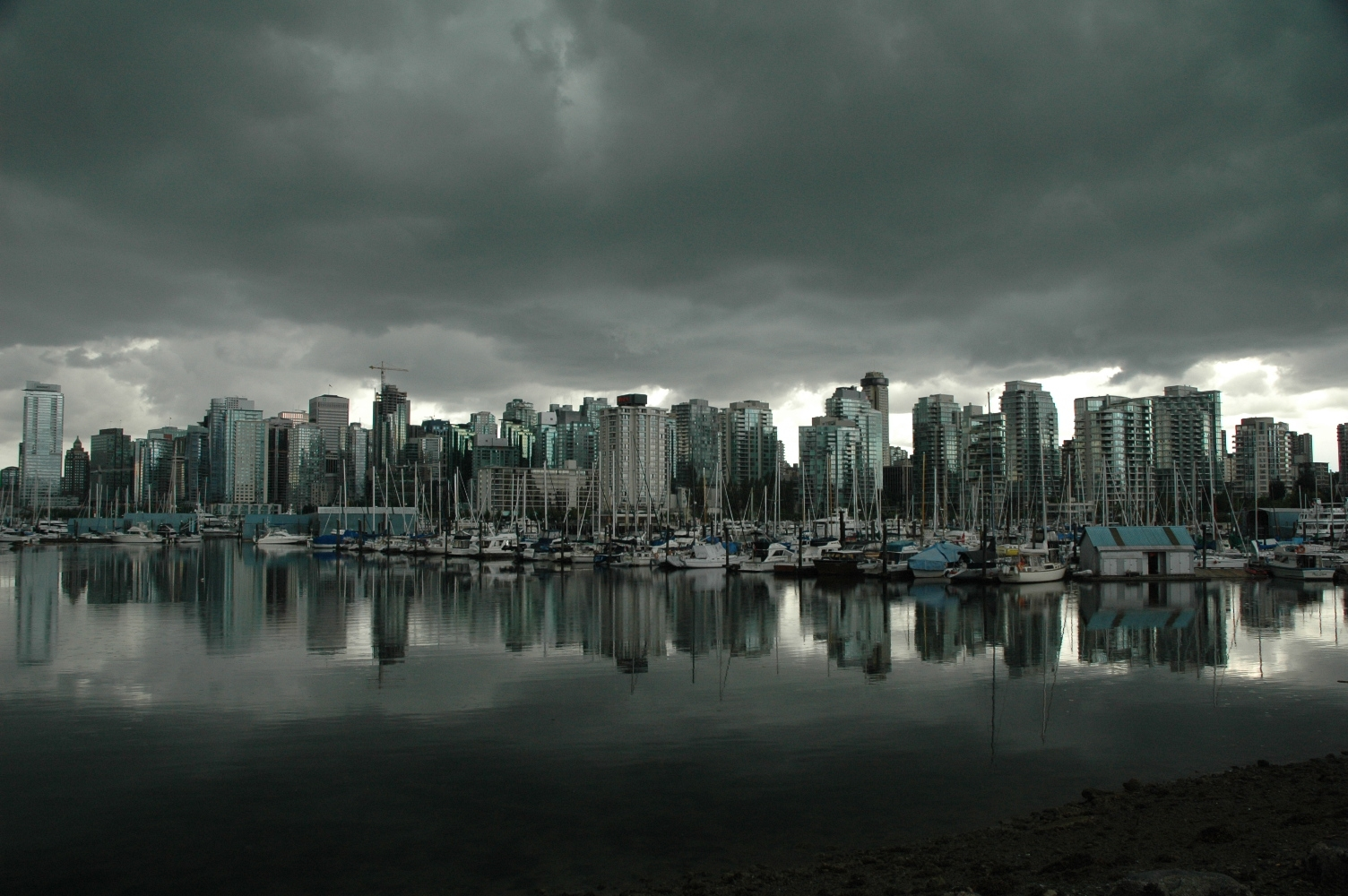 vancouver skyline wallpapers widescreen - photo #4