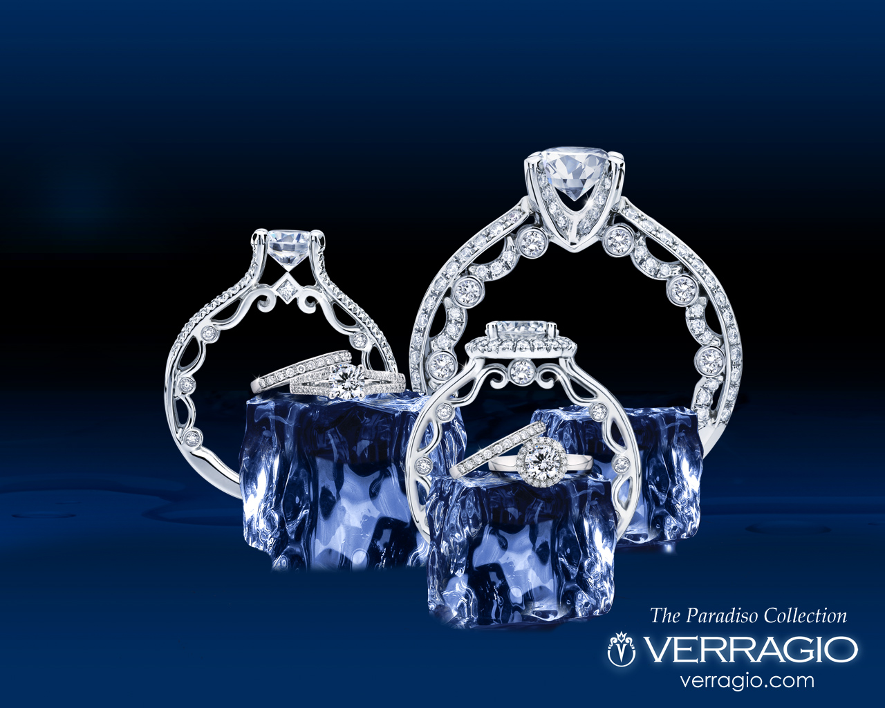 Verragio Paradiso Engagement Rings