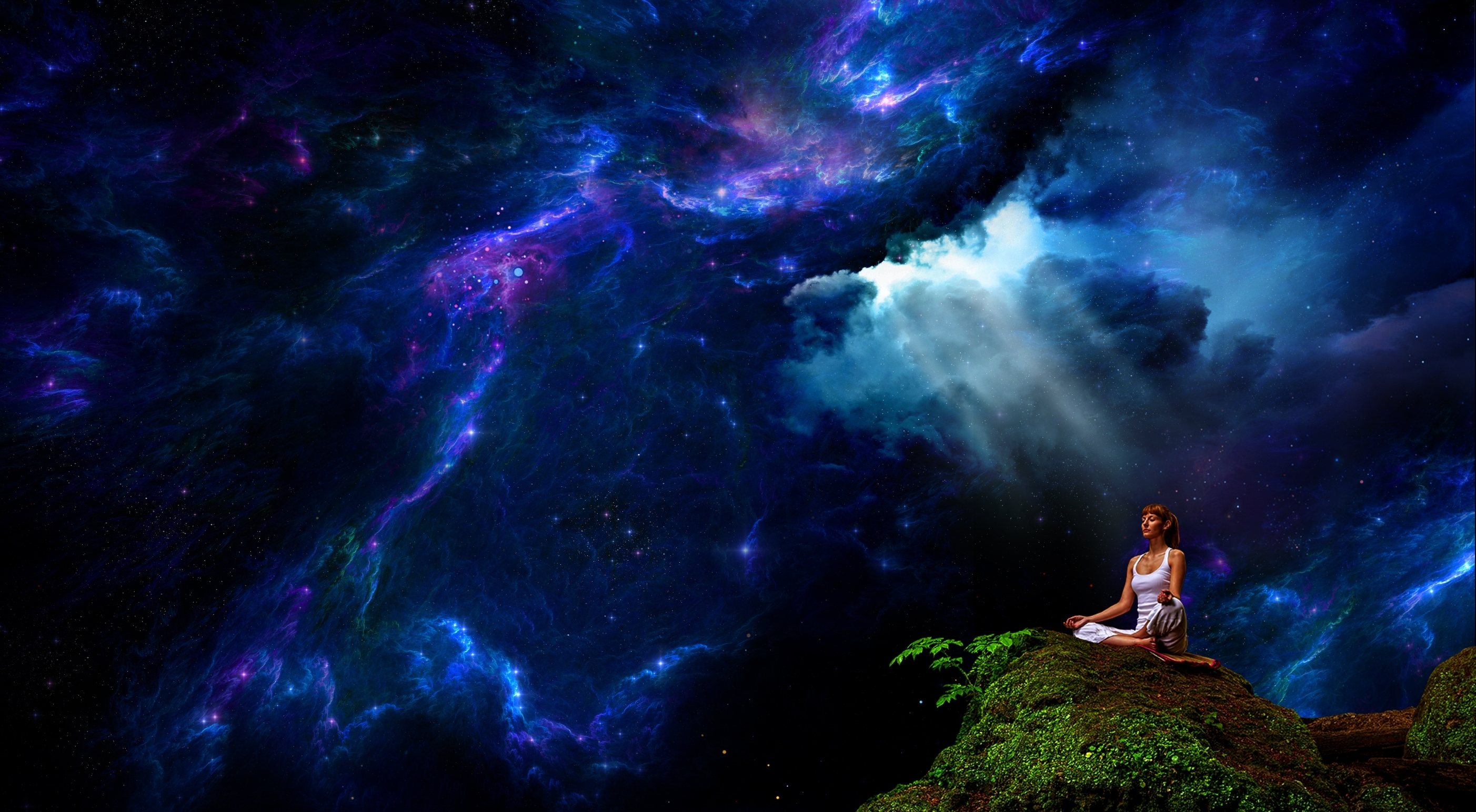 Meditation - Desktop Wallpaper