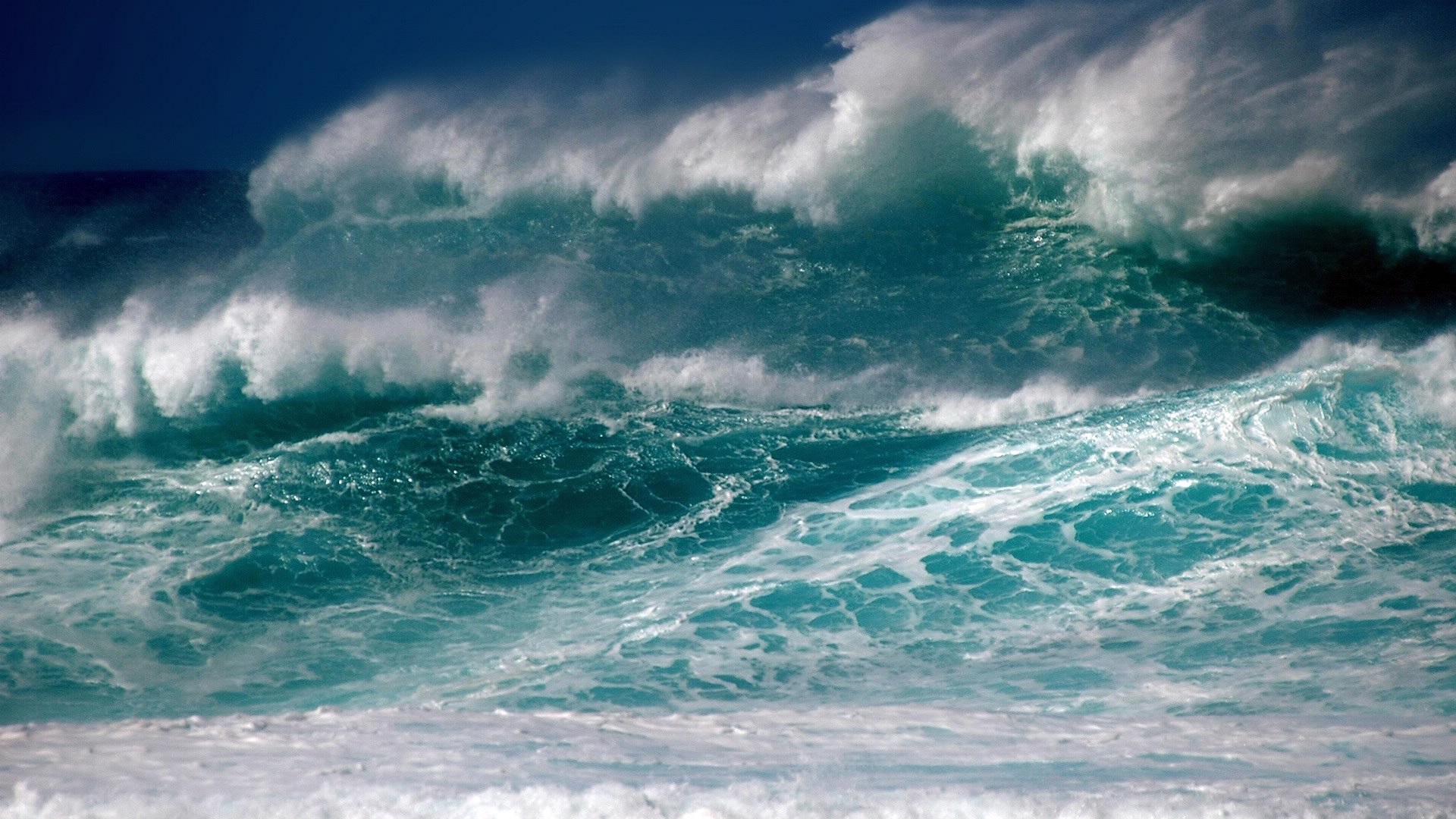 The Wave Desktop Wallpaper