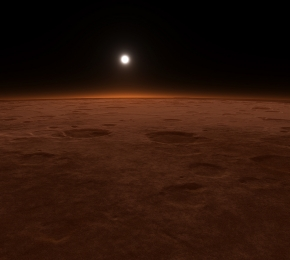 Mars Surface by Bret Little - Desktop Wallpaper