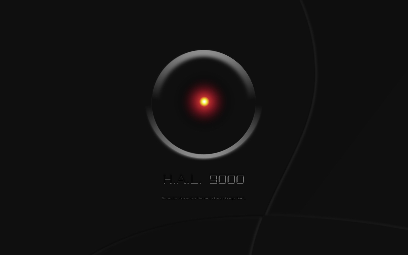 2001 hal 9000 by ultradax desktop wallpaper